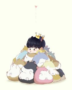 Discovered by Find images and videos about Seventeen, fanart and hoshi on We Heart It - the app to get lost in what you love. Hamsters, Woozi, Mingyu Wonwoo, Won Woo, Mingyu Seventeen, Art Folder, Seventeen Wallpapers, Kawaii, Bts Chibi