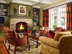 Lovely Home Living Room Ideas 5 Graceful Tricks: Living Room Remodel With Fireplace Wall Colors small living room remodel half walls.Living Room Remodel On A Budget Brick Fireplaces. French Country Bedrooms, French Country Living Room, French Country Decorating, Grey Walls Living Room, My Living Room, Home And Living, Small Living, Living Area, Farmhouse Remodel