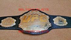 UFC Ultimate Fighting Championship Belt Plate On Leather Ufc Belt, Ufc Titles, Ultimate Fighting Championship, Professional Wrestling, Leather Jackets, Mma, Old School, Belts, Leather Jacket
