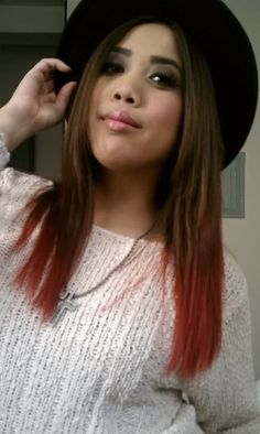 74 Best Dip Dye Hair Images On Pinterest Colourful Hair