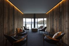 Pumphouse Point is an eco-lodge in remote Central Tasmania. Designed by architects Cumulus Studio. Tasmania, Boutiques, Resorts, Loft Industrial, Sainte Claire, Interior Architecture, Interior Design, Australian Architecture, Interior Decorating