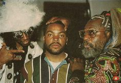 Bootsy Collins, Ice Cube, & George Clinton