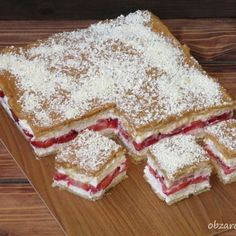 Krówka z truskawkami w 15 minut Vegan Ramen, Tasty, Yummy Food, Dessert Drinks, Homemade Cakes, No Bake Desserts, Breakfast Recipes, Food And Drink, Cooking Recipes