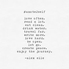 #gentlereminder || #anote2self
