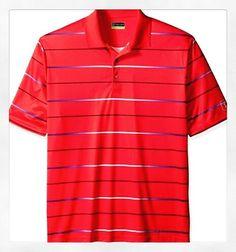 PGA TOUR Men's Golf Performance Polo Shirt Gradient Stripe Size 4XL-Get yours today!  Link on Profile  #man #gentlemen #mensfashion #mlb #nfl #luxury #suitup #baseball #guyswithstyle #fashionblogger #pgatour #pgagolf #golfstagram
