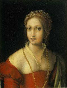 Ritratto di giovane donna - Correggio