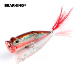 Excellent 2017,Only for promotion,no benifit!!!! fishing lures,70mm/11g,bear king,topwater,each lot 5pcs different colors