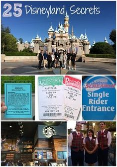 25 Disneyland Secrets for Your Next Vacation!