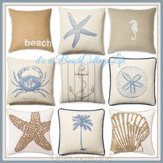 """""""Seaside Styles of the Season"""" I'll take one of each! @ https://www.onekingslane.com/invite/renmarie7"""