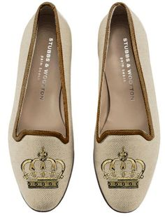 Stubbs & Wootton - Purveyors of Fine Footwear. You design your own. Pick the cut, material, color and embroidery design.