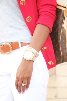 Love everything about this picture. Tory Burch Simone Sweater... best sweater yet! :) www.fashions4lv.at.nr   Fashion stylewith louis vuitton only $129.8 very very very cheap!!!!