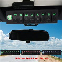 Jeep Wrangler JK Switches and Panels we carry include switch panel pods, light switches, rocker switches, toggle switches, fuse panels. Jeep Wrangler Light Bar, New Jeep Wrangler, Jeep Wj, Jeep Wrangler Unlimited, Jeep Wrangler Accessories, Jeep Accessories, Motorhome, Jeep Lights, Jeep Brand