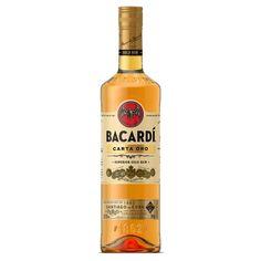 Bacardi Carta Oro Bacardi, Puerto Rico, Ron, Beverages, Drinks, Vodka Bottle, Liquor, Alcohol, Packaging