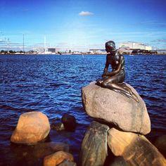 Den Lille Havfrue (The Little Mermaid) paikassa København Ø, Region Hovedstaden