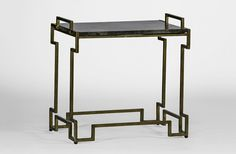 tray table | butler table John Butler Geometric Metal Base Antique Brass Gabby SCH-260135 W 23.5 D 16 H 21.5 $497.50 #1Foot Rectangle