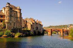 Espalion dans l'Aveyron