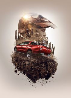 We made the following project for the launch campaignNew Mitsubishi L200 - 2016.Tecnic: 60% CGI - 40% PostClient: Oveja Negra - Mitsubishi MotorsCreative Director: Manuel EscalanteProducer: Georgina BernyForma: Catzwolf - Rodo Morfin
