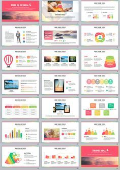 Check out my behance project 27 best annual multicolor creative 21 multicolor report powerpoint templates toneelgroepblik Image collections