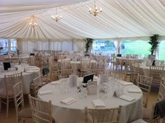 "Table for 10 - 5ft 6"" round - #marqueehireuk #marqueehire #Notts #Derby #Leicester #weddings #corporate #events"