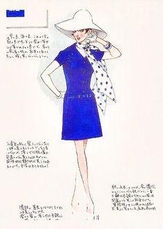 日本中の女性をトリコに♡中原淳一の描いたイラストが美しすぎる。 MERY [メリー]