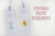 a little delightful: {printable} Easter Bookmarks