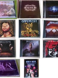 LOT  11  Album's AUDIO -  ref1007 *************************************** Hopes and Fears - KEANE .... bon état Varius Artist   - URBAN RENEWAL FEAT. THE SONGS OF PHIL COLLINS - Tbon état GUNS N' ROSES   - COFFRET livre audio vidéo ...  état comme neuf THE CARDIGANS   - FIRST BAND ON THE MOON ..  T-bon état OFFSPRING       - SMASH ....  bon état King For a Day  - FAITH no MORE - Fool For a Life Time   T-bon état Sepultu...