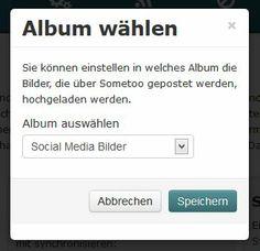Ab jetzt werden die Bilder, die über Sometoo zu Fabeook hochgeladen werden, schön in ein Album gespeichert, statt nur verlinkt zu werden.