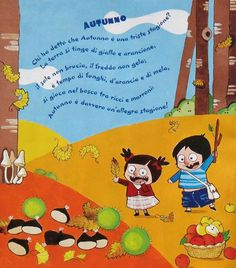 autunno Italian Language, Learning Italian, Nursery Rhymes, Winnie The Pooh, Disney Characters, Fictional Characters, Crafts For Kids, Snoopy, Classroom