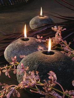 candlelight - garden, walkway, deck/patio