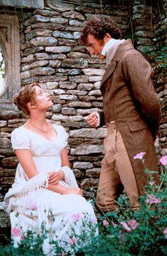 Mr. Bingley and Jane Bennet in Pride & Prejudice (1995)