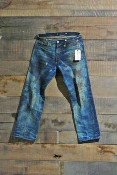 Levi's 501XX Special Edition Spur Bites and Barnyard Jeans