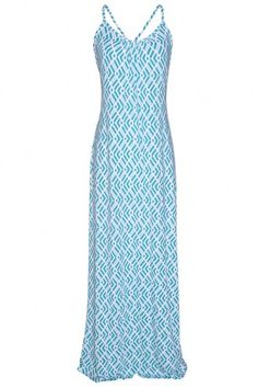 I love this maxi dress, it looks so cool and comfortable. I imagine wearing it out at night with friends. #bevellosummer