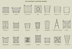Oxford Planters Design, Manufacture Wooden Planters, Pots and Plant Containers.