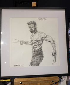 "Hugh Jackman ""Wolverine"" in X-men. A Christmas Present for my 13 year old son Sondre."