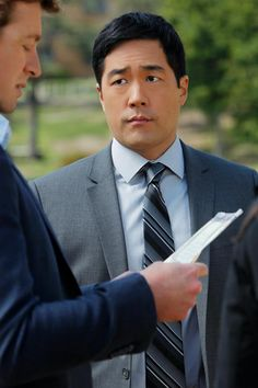 Cho from The Mentalist