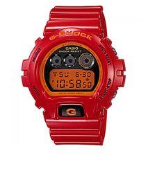 536a6743685 Casio DW-6900CB-4 G-Shock Watch Red orange     Check