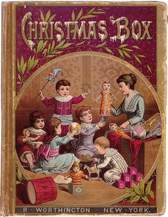 Christmas Box Book Cover from Letterology
