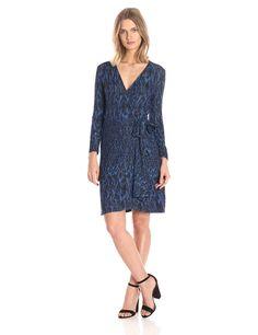 BCBGMax Azria Women's Adele Wrap Dress