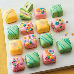 Birthday/ Easter / Spring Petits Fours - Cakes & Pies Gift Baskets | Harry & David