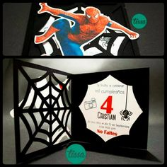 Diy homemade spider man birthday invitations utopia party decor 109246287809361786270078822645926908906052ng 960960 solutioingenieria Gallery