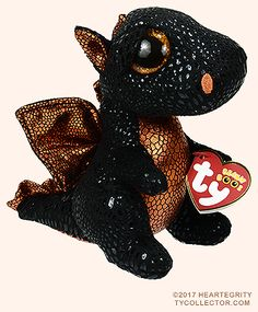 Merlin The Dragon Plush Regular Stuffed Animal Collection TY Beanie Boos 6 for sale online Ty Beanie Boos, Beanie Babies, Beanie Boo Dogs, Big Eyed Stuffed Animals, Dinosaur Stuffed Animal, Pusheen, Christmas Beanie Boos, Totoro, Ty Peluche