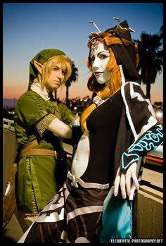 Link and Minda (ichigokitty) from The Legend of Zelda: Twilight Princess #cosplay
