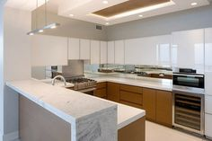 Streeterville Townhome contemporary kitchen
