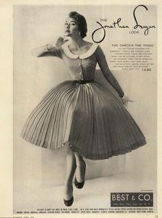 Jonathan Logan Ad Campaign Spring/Summer 1954