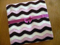 Neopolitan ripple blanket