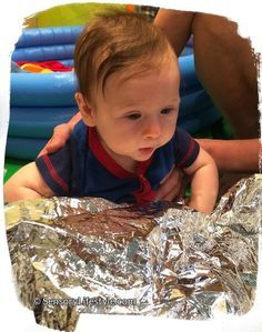 10 sensory play ideas for 4 month olds
