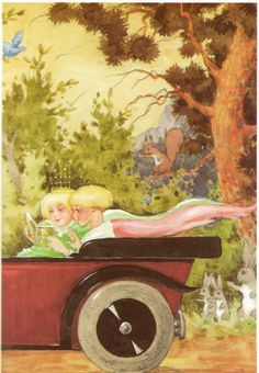 Vintage Prints, Retro Vintage, Children's Book Illustration, Book Illustrations, Woman Reading, Vintage Children, Finland, Childrens Books, Illustrators