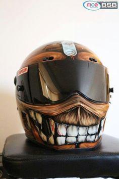 Big white teeth Helmet