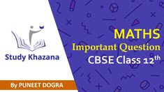 #cbse #class #12th || Study Khazana Maths important Question for class 12th students follow #studykhazana on  www.studykhazana.com     Contact us :  +91-9773797187, +91-9910902938    Email: mail@studykhazana.com Cbse Class 12 Maths, 12th Maths, Mathematical Induction, Binomial Theorem, Permutations And Combinations, Complex Numbers, Math Questions, Trigonometry, Question Paper