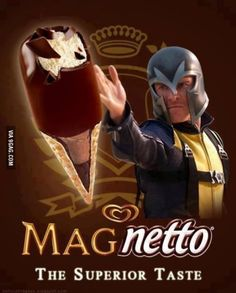 So funny! Michael Fassbender and ice cream